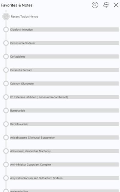 Intravenous Medications IV Drug Guide GAHART screenshot 24