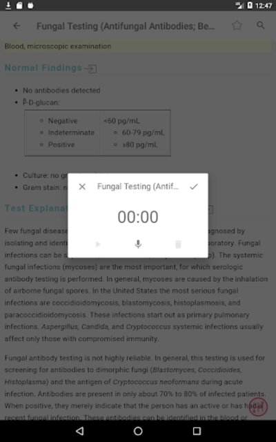 Mosby's Diagnostic and Laboratory Test Reference screenshot 23