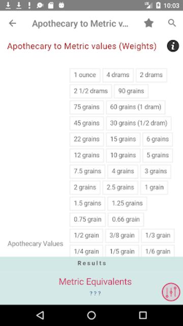 Clinical Calculator PLUS screenshot 5