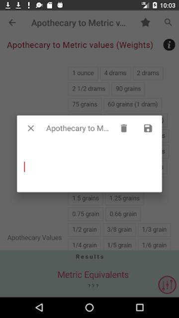Clinical Calculator PLUS screenshot 6