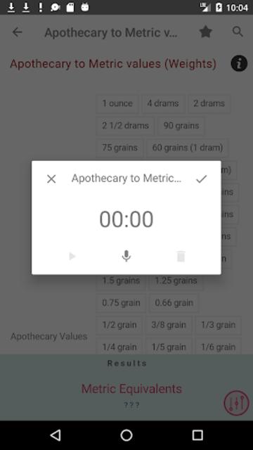 Clinical Calculator PLUS screenshot 7
