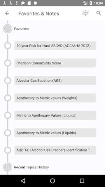 Clinical Calculator PLUS screenshot 8