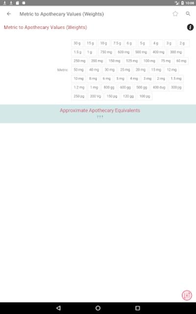 Clinical Calculator PLUS screenshot 13
