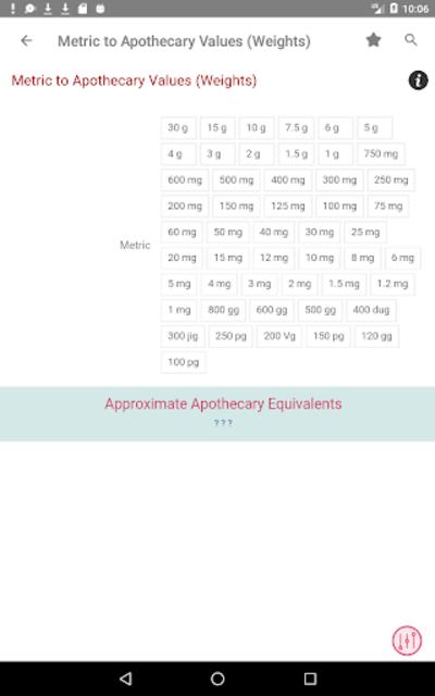 Clinical Calculator PLUS screenshot 21