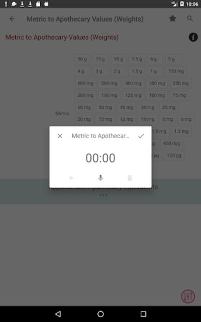 Clinical Calculator PLUS screenshot 23