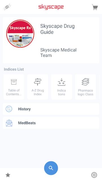 Skyscape Rx - Drug Guide screenshot 1