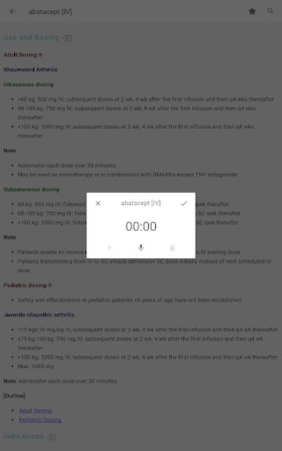 Skyscape Rx - Drug Guide screenshot 11