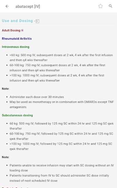 Skyscape Rx - Drug Guide screenshot 19