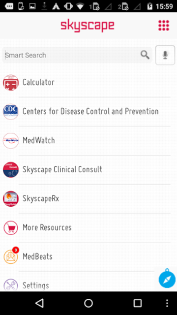 Skyscape Medical Library screenshot 1