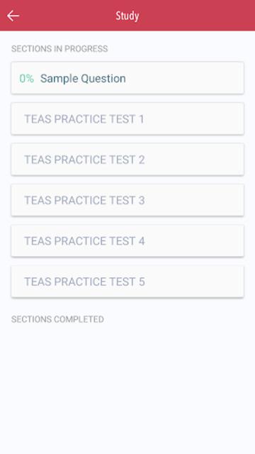 5 TEASE Practice Tests screenshot 2