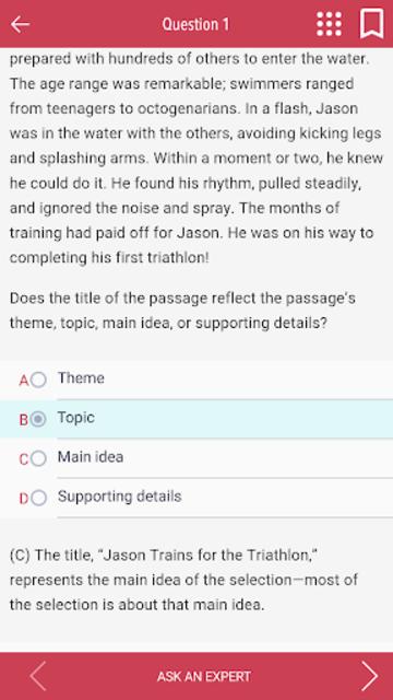 5 TEASE Practice Tests screenshot 4