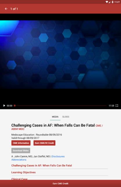 Medscape CME & Education screenshot 7