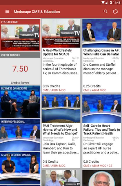 Medscape CME & Education screenshot 10