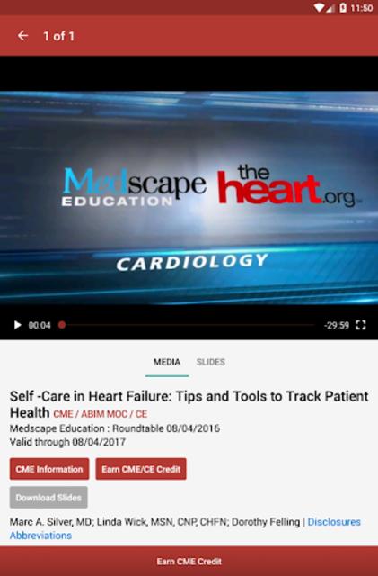 Medscape CME & Education screenshot 11