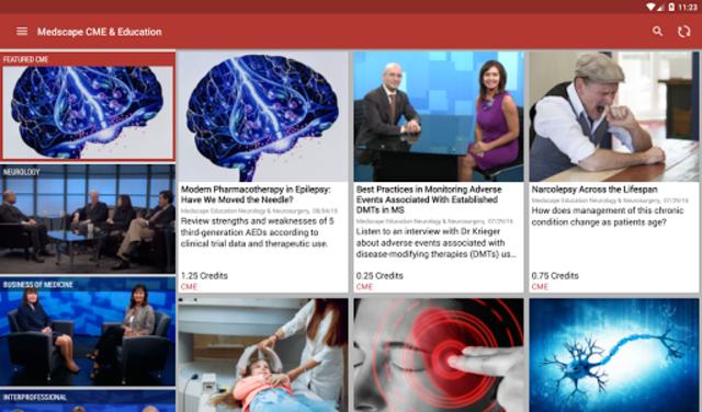 Medscape CME & Education screenshot 6