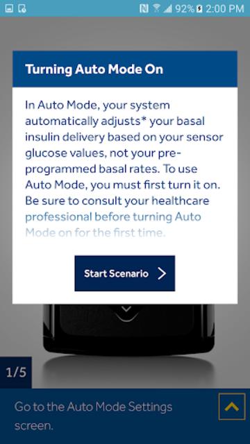 MiniMed™ 670G System Simulator screenshot 4