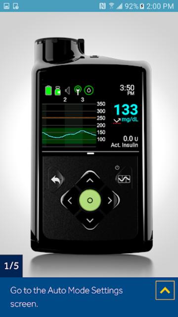 MiniMed™ 670G System Simulator screenshot 5