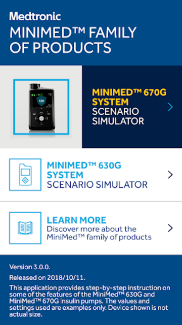 MiniMed™ 670G System Simulator screenshot 6