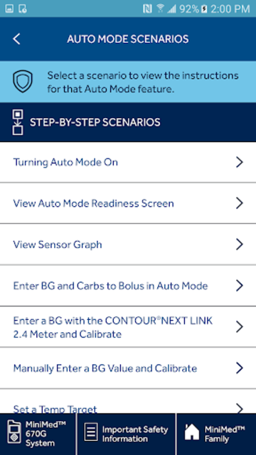 MiniMed™ 670G System Simulator screenshot 8
