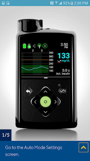 MiniMed™ 670G System Simulator screenshot 10