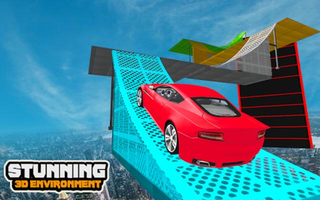 Mega Car Ramp Impossible Stunt Game screenshot 13