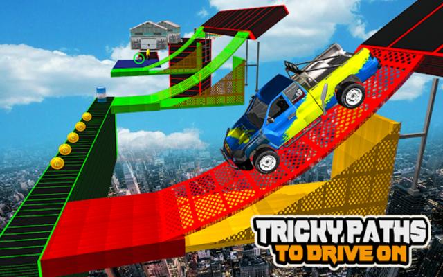 Mega Car Ramp Impossible Stunt Game screenshot 20