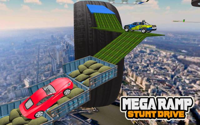 Mega Car Ramp Impossible Stunt Game screenshot 22
