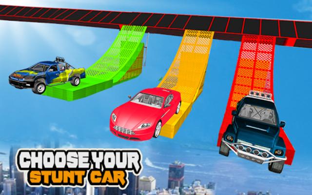 Mega Car Ramp Impossible Stunt Game screenshot 23