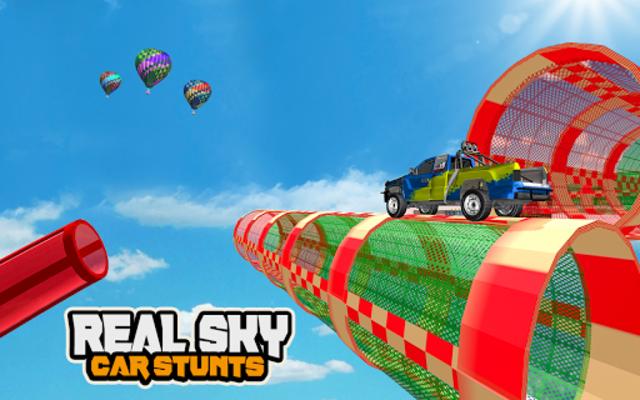 Mega Car Ramp Impossible Stunt Game screenshot 24