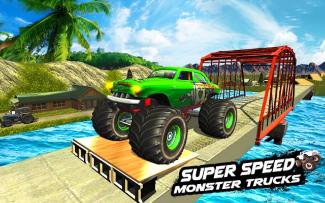 Mega Ramp Monster Truck Racing Games screenshot 1