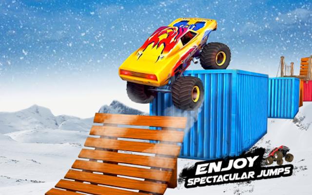 Mega Ramp Monster Truck Racing Games screenshot 2