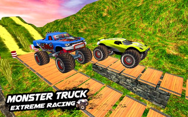 Mega Ramp Monster Truck Racing Games screenshot 3