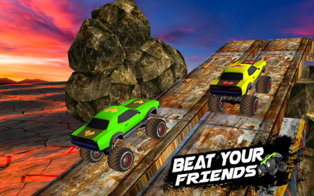 Mega Ramp Monster Truck Racing Games screenshot 7