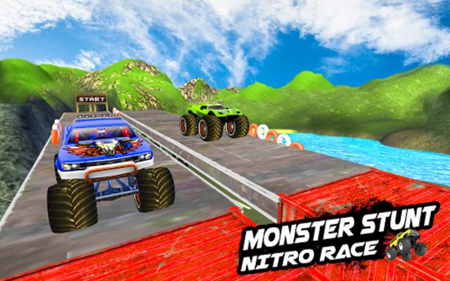 Mega Ramp Monster Truck Racing Games screenshot 12