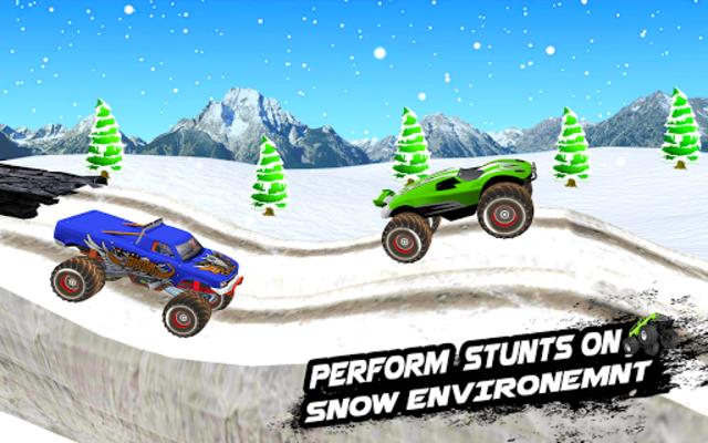 Mega Ramp Monster Truck Racing Games screenshot 13