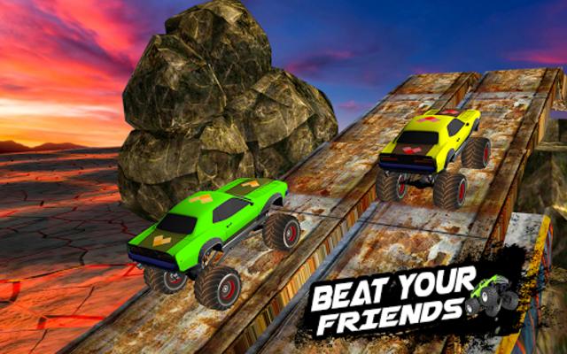 Mega Ramp Monster Truck Racing Games screenshot 14