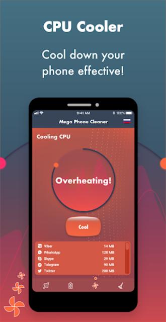 Mega Phone Cleaner - Clean & Boost screenshot 2