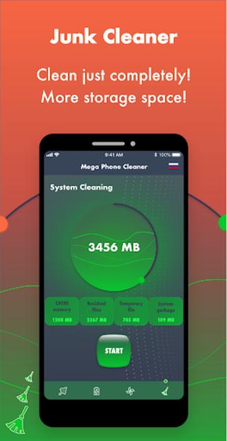 Mega Phone Cleaner - Clean & Boost screenshot 3