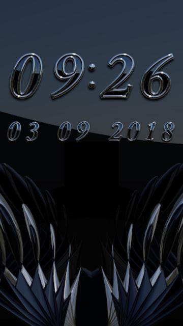 DEVANCE Digital Clock Widget screenshot 2