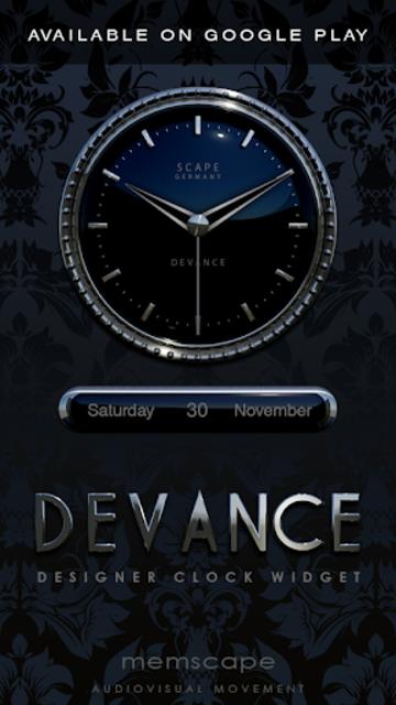 DEVANCE Digital Clock Widget screenshot 4