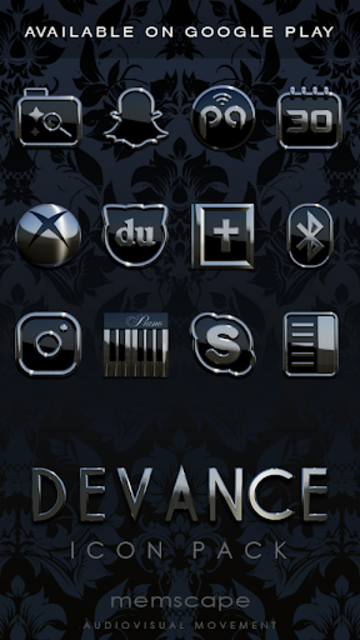DEVANCE Digital Clock Widget screenshot 5