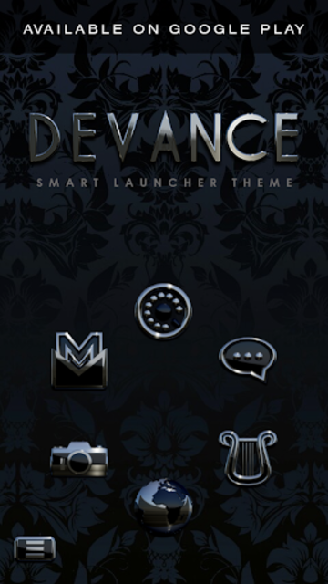 DEVANCE Digital Clock Widget screenshot 6