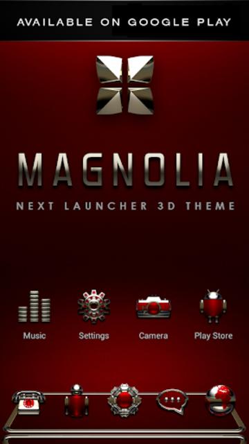MAGNOLIA Analog Clock Widget screenshot 7