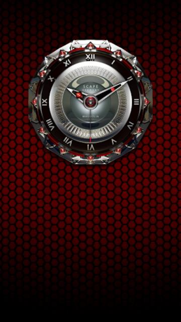 MAGNOLIA Analog Clock Widget screenshot 2