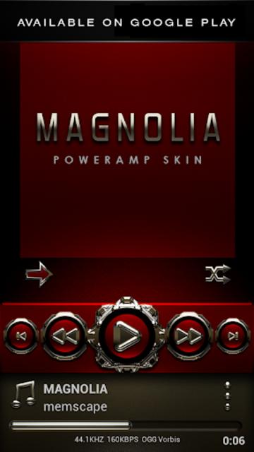 MAGNOLIA Analog Clock Widget screenshot 6