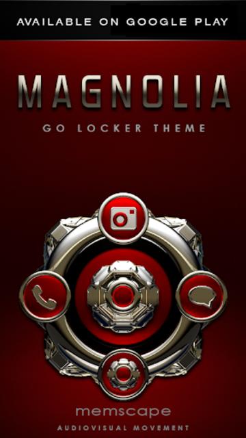 MAGNOLIA Analog Clock Widget screenshot 8