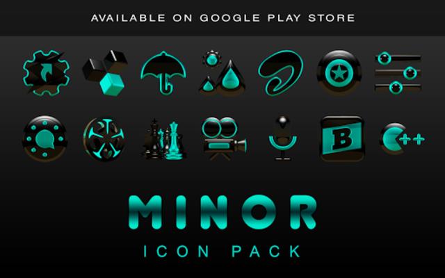 MINOR Digital Clock Widget screenshot 13