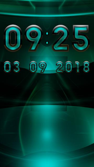 MINOR Digital Clock Widget screenshot 2