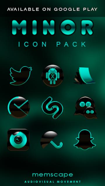 MINOR Digital Clock Widget screenshot 5