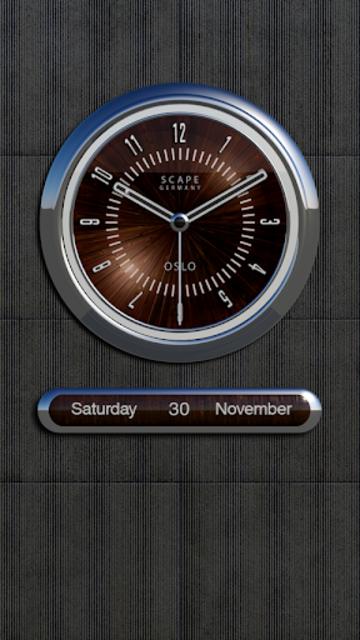 OSLO Analog Clock Widget screenshot 2